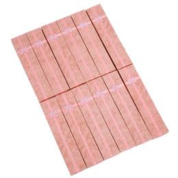 Длинные шкатулки для драгоценностей онлайн-YCYS-12 x Pink Long  Card Jewelry Gift Boxes Watch Display Box Pendant Necklace