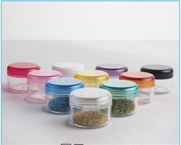 Wholesale Care Cosmetics Products - 10Pcs 5g Cosmetic Empty Jar Pot Eyeshadow Makeup Face Cream Container Bottle Acrylic for Creams Skin Care Products makeup tool