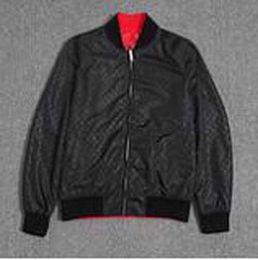 Wholesale high fashion jackets men - Top quality Luxury jackets letters print High street fashion clothing black 2XL 9026