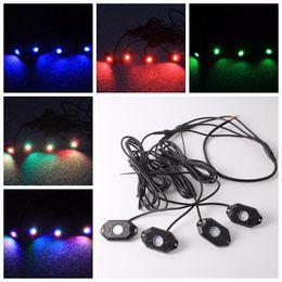 tábuas em movimento Desconto -RGB Kits De Luz De Rock LEVOU com Controle de Telefone Celular Bluetooth Cor Grad Multicolor Neon Luzes Sob Off Road Truck SUV Carro barco