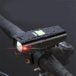 lanterna brilhante Desconto Luz dianteira da bicicleta bicicleta brilhante luz usb lanterna de carregamento da bicicleta à prova d 'água tocha farol da bicicleta