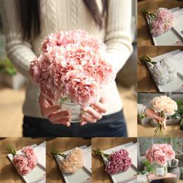 Peonie reali online-6 colori Combinazione stile peonia Bouquet di fiori artificiali Real Touch Decorazioni per matrimoni per feste Fiori finti Decorazioni per la casa B