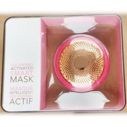 Outils de technologie gratuite en Ligne-Dispositif de masque intelligent à activation thermique UFO LED Beauty Tech Masques pour le visage Outil de soin de la peau DHL Free!