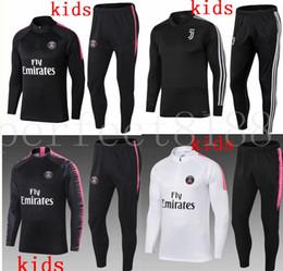 59b79200aa514 chándal de ropa deportiva para niños Rebajas 2018 2019 Psg kids Juventus Man  Utd niño fútbol