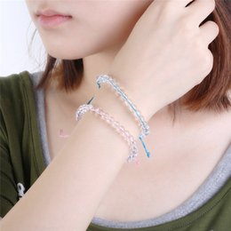 2019 muster charme armbänder BOAKO 4 Ozean Natürliche Kristall Perlen Armbänder für Frauen Männer Handgemachte Boho Freundschaft Armband Männlichen Schmuck pulseira masculina