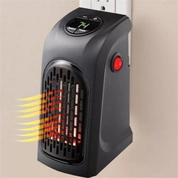 Wholesale Black Kitchens - Mini Handy Heater Plug-in Personal Heater Home Use The Wall-outlet Space Heater 350W Hotel Kitchen Bar Bathroom Handy Heaters 2702003