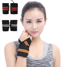 Wholesale thumb wrist - Professional Quality Wrist Straps Support Thumb Loops for Powerlifting Bodybuilding Weight Lifting Strength Training fits Men & Women G904Q