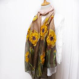2018 nueva bufanda de lana de seda mezcla de flores damas bordado bufanda hecha a mano tridimensional de uñas de flores bufanda de seda sección delgada chal desde fabricantes