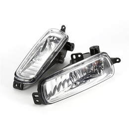 Wholesale Ford Focus Lights - 1 Pair   2PCs Car headlight Left and Right Fog Diving Lamps for 2015 2016 2017 Ford Focus Diving Lights Replacement Bright Lamps