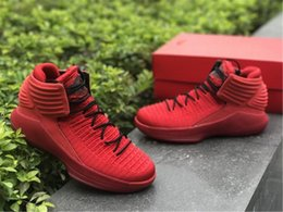 Wholesale Corsa Black - Air Retro 32 XXX2 Rosso Corsa Basketball Shoes Mens 32s Corsa Retro XXX2 UNIVERSITY RED BLACK UNIVERSITE Sneakers Size US 7-12