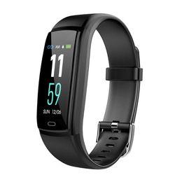 rastreador de celular android Desconto Relógios inteligentes Monitor de Freqüência Cardíaca de Pressão Arterial Rastreador De Fitness Relógio Inteligente Pulseira Inteligente À Prova D 'Água Para IOS Android Celular Relógio De Pulso