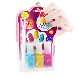 BK enfants mignons sexy couleur douce kit de nail art conçoit blanc rouge bleu mini kit de vernis à ongles laque ensemble de vernis ? partir de fabricateur