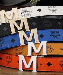 ceinture en cuir marron large pour femme Promotion 2018 nouveau Hot Brand designer ceinture hommes mode hommes ceintures de luxe haute qualité mc ceintures pour hommes en cuir véritable f hommes bels