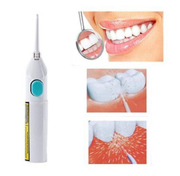 Wholesale tooth water - Portable Power Flosser Floss Dental Oral Water Jet Tooth Cleaning Pick Flusher Irrigator Dental Teeth Whitening 120pcs AAA761