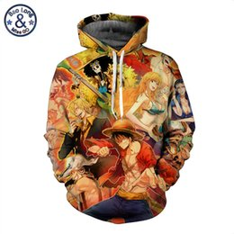 ee85f0454cdf Men Women One Piece Monkey D Luffy Kuzan The Straw Hat Pirates Print 3D  Pullovers Loose Hooded Hoodies Sweatshirts