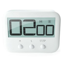 Большие часы lcd онлайн-LCD Digital Large Kitchen Cooking Timer Count-Down Up Clock Loud Alarm Magnetic Large LCD Display Count Down Timer Timing Tool