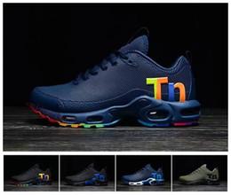 cd490b518c5 tomada azul Desconto 2019 Mens Mercurial Tn Plus 2 Tênis de Corrida  Chaussures tns Além de
