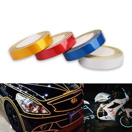 motorcycle reflective tape Australia - 5m*1cm Truck Auto Motorcycle Reflective Tape Adhesive Strip Stickers Film Styling Safety Mark Reflective Tape Stickers Bicycle