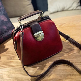Wholesale Green Scene - New Fashion restoring ancient ways the doctor hitting scene button bag femininas Women Bags Shoulder Bag