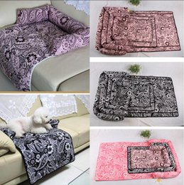 Tapetes laváveis on-line-Nova Multifuncional Grande Cão Sofá Cama Dog Dog Dog Kennels Lavável Ninho Casa Pet Suprimentos S M L XL AAA11778