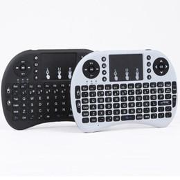 2019 rii i8 bluetooth Mini Rii i8 Drahtlose Tastatur 2,4G Englisch Air Maus Tastatur Fernbedienung Touchpad für Smart Android TV Box Notebook Tablet PC