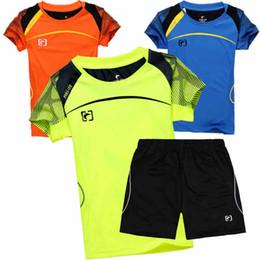 2019 mädchen sportswear sets Kind Badminton Shirt Kurze Jungen Mädchen Sportswear Tenis Set Volleyball Tischtennis Kleidung Trocknen Schnell Junior Jugend Sport Anzüge günstig mädchen sportswear sets