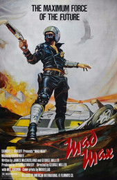 Max artes on-line-Mad Max Vintage Clássico Filme Art Silk Poster 20x30 24x36 24x43