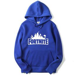 Wholesale wholesale streetwear sweatshirts - Fortnite Hoodie For Kids Hooded Pullover Oversized Jumper Hoodies Streetwear Male Hoody Sweatshirts Sportswear Top Clothing