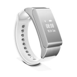 Wholesale Bluetooth Bracelet Headset - Smart Bracelet Watch Talkband M8 Wireless Bluetooth Headphone Headset Talk Band Pedometer Fitness Monitor Wristband PK Huawei B2