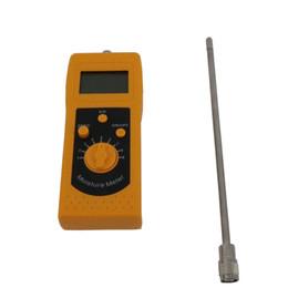 Medición de metros online-DM300L Digital Medidor de humedad del suelo portátil compacto Fácil de usar y las lecturas de medición de humedad son instantáneas.