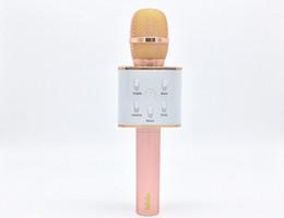 Toptan-Moda Sihirli Karaoke Mikrofon Kablosuz Bluetooth MIC Hoparlör Kayıt Müzik Telefonu Müzik Çalar Ücretsiz Kargo nereden