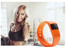 Reloj pulsera saludable online-TW64e Smart Bracelet bluetooth sport watch Smartwatch android ios Alta calidad smart Bracelet lovers Bluetooth healthy wear motion steps