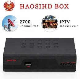 Canada [HAOSIHD] Europe arabe récepteur IPTV IPTV Italie gratuit 2700 Royaume-Uni Italie France Allemagne Afrique canal somali meilleur que mag 250 Offre