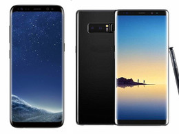 Wholesale Cheap Chinese Tvs - Free DHL Goophone S8 S8 plus Note 8 android Quad Core Smartphone mobile show Octa 64GB 4G LTE Unlock Cell Phones cheap phone