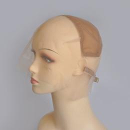 Chapeaux de base de perruque en Ligne-Full Lace Wig Cap Base Pour Faire Full Lace Hand perruques Avec Bretelles Réglables Glueless Weaving Cap
