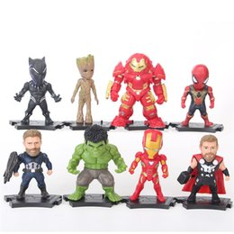 Wholesale Infinity Figures - Comic Garage Kit Periphery Kid New Pattern Infinity War Action Figures Children Model Figure Toy Hot Sale 25hs WW
