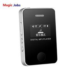 melhor mp3 player portátil usb Desconto Magic_jobs jogador mp3 hi-fi de áudio portátil mini mp3 player usb tela lcd mídia de mídia suporte micro sd tf cartão lettore d30 jan8
