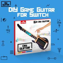 2019 гитарный комплект diy DIY Гитара для NS переключатель Лабо резинкой гитара музыка коробка комплект подарок для мальчиков девочек скидка гитарный комплект diy