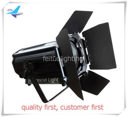 Wholesale Fresnel Lights - 8Xlot zoom fresnel spot light dmx 512 ip20 led spotlights dj 120w led fresnel light