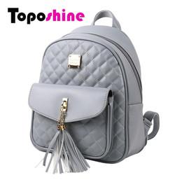 Wholesale Cute Fashion Backpack - 2017 Fashion Women Backpacks Black PU Leather Lady Backpacks Girls Backpacks Popular Cute Ladies School Bags 1743