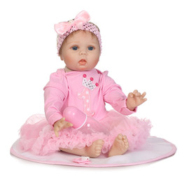 Wholesale good ideas - NPK Full Glue Simulation Baby Doll Cute Gift Idea High Grade Silicone Making Doll Toy Good quality