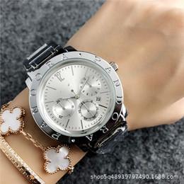 Relojes deportivos de gama alta digital online-Señoras de moda Exquisito Reloj Deportes al aire libre Ocio de ocio Reloj de cuarzo de gama alta Cinturón de acero de cuello blanco Reloj de mujer