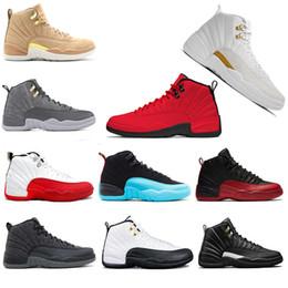 sports shoes d3352 04a1b 2019 baron schuhe Chaussure 12 XII Basketball Schuhe weiß Grippe Spiel GS  Barons PE Wolf grau