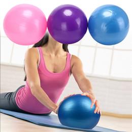 2019 equilíbrio de fitness 3 Cores Para O Exercício de Aparelho de Fitness Balance Ball Trainer Casa Equilíbrio 25 cm Mini Yoga Bola Pilates Aptidão Física equilíbrio de fitness barato