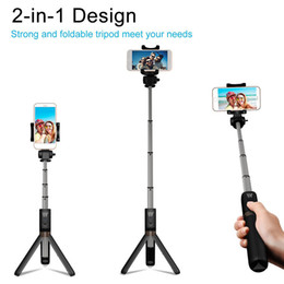 selfie monopods iphone Coupons - New Bluetooth Extendable Selfie Stick with Wireless Remote Shutter Monopods Tripod Stand for iPhone Huawei Xiaomi Phone Smartphones