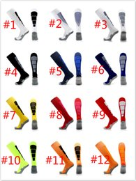 Wholesale Grey Knee Socks - 13 Styles Football Socks Soccer Basketball Sock Long Knee Athletic Sport Socks Barrelled Men Fashion Compression Thermal Winter Sock