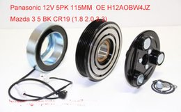 Wholesale Factory Direct Parts - Factory direct sale auto ac compressor clutch fit Mazda 3 5 BK CR19 AKSO8549522 H12A0BW4JZ CC29-61-450G