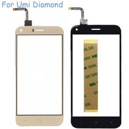 2019 заменить экран телефона 5.0'' Touchscreen For Umi Diamond Touch Screen Digitizer Glass Panel Sensor No LCD Phone Replace Part Free Shipping+3M Sticker дешево заменить экран телефона