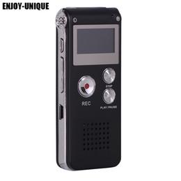 Wholesale Pen Mp3 Player - Rechargeable Voice Recorder 8GB Mini USB Flash Digital Audio Voice Recording 650Hr Dictaphone MP3 Player USB Recording Pen