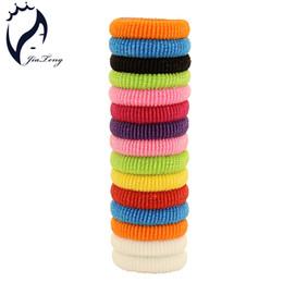 Encanto de goma online-80 unids / bolsa 30mm Niños Niñas Accesorios para el Cabello Banda para el cabello Brillantes titulares Bandas de goma Elásticos Accesorios Encantos Tie Gum